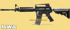 KWA M4 GBBR LM4 RIS GBB Rifle (System7 Two) Black